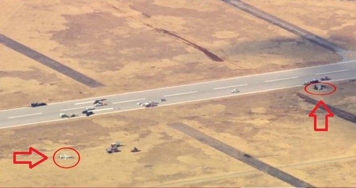 美國空軍兩架T-38教練機於俄克拉荷馬州萬斯空軍基地墜毀,飛行員兩死兩生還。(網圖)
