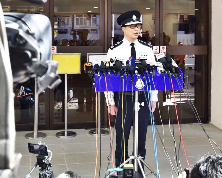 鄧炳強相信大部分市民均希望能和平和安全地投票。