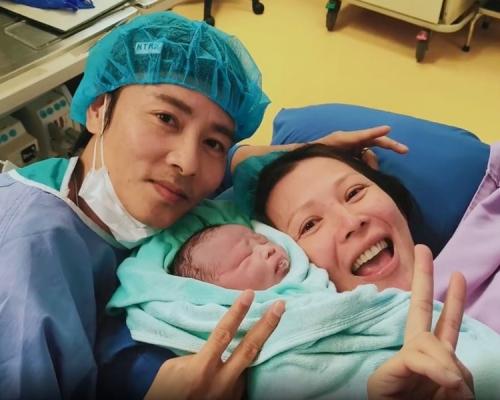 紀錄蔡少芬生第3胎片段 張晉看著難受:媽媽肯定偉大