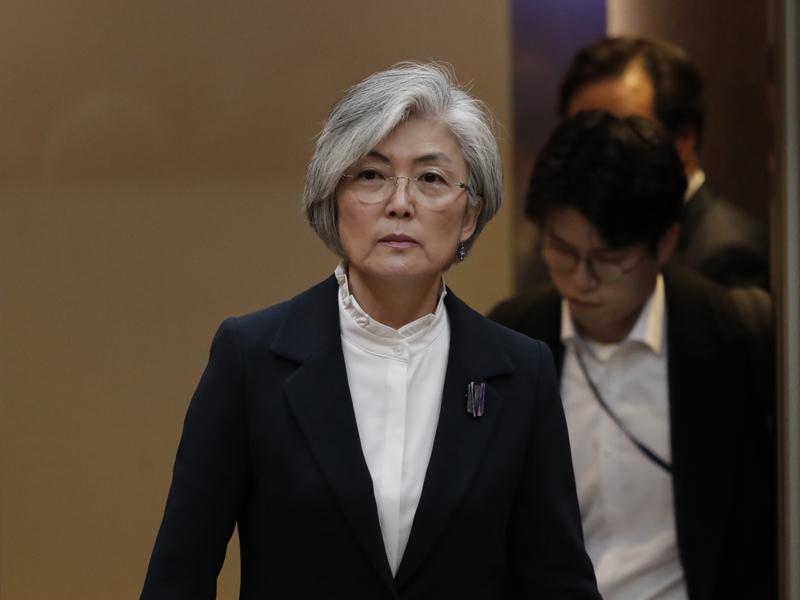 韓國外長康京和計劃於今晚(22日)前往名古屋,準備出席G20外長會議,預料她於當地與日本外相茂木敏充、美國國務院亞太助理國務卿史迪威及助理國務卿沙利文會面。AP