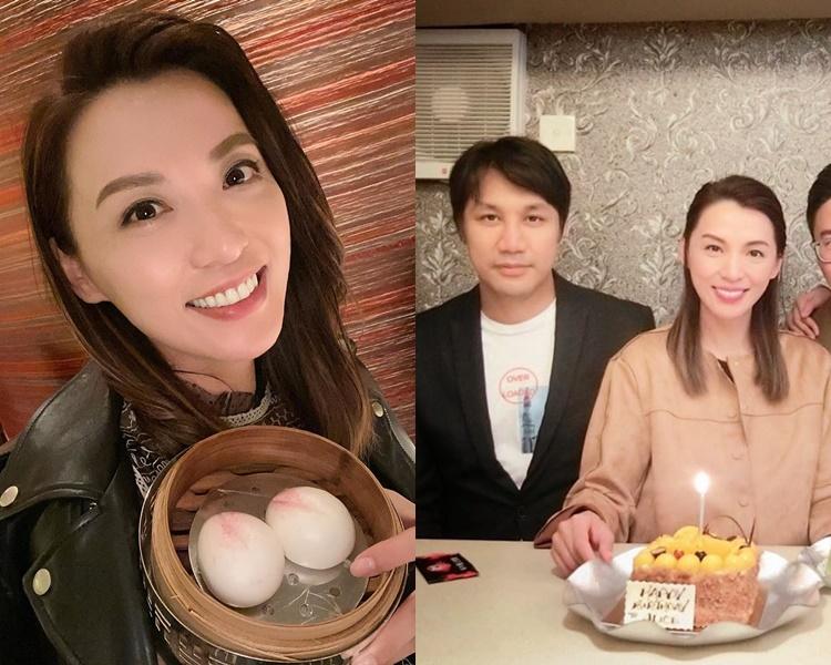 陳煒有男友傍住過46歲生日。(ig圖片)
