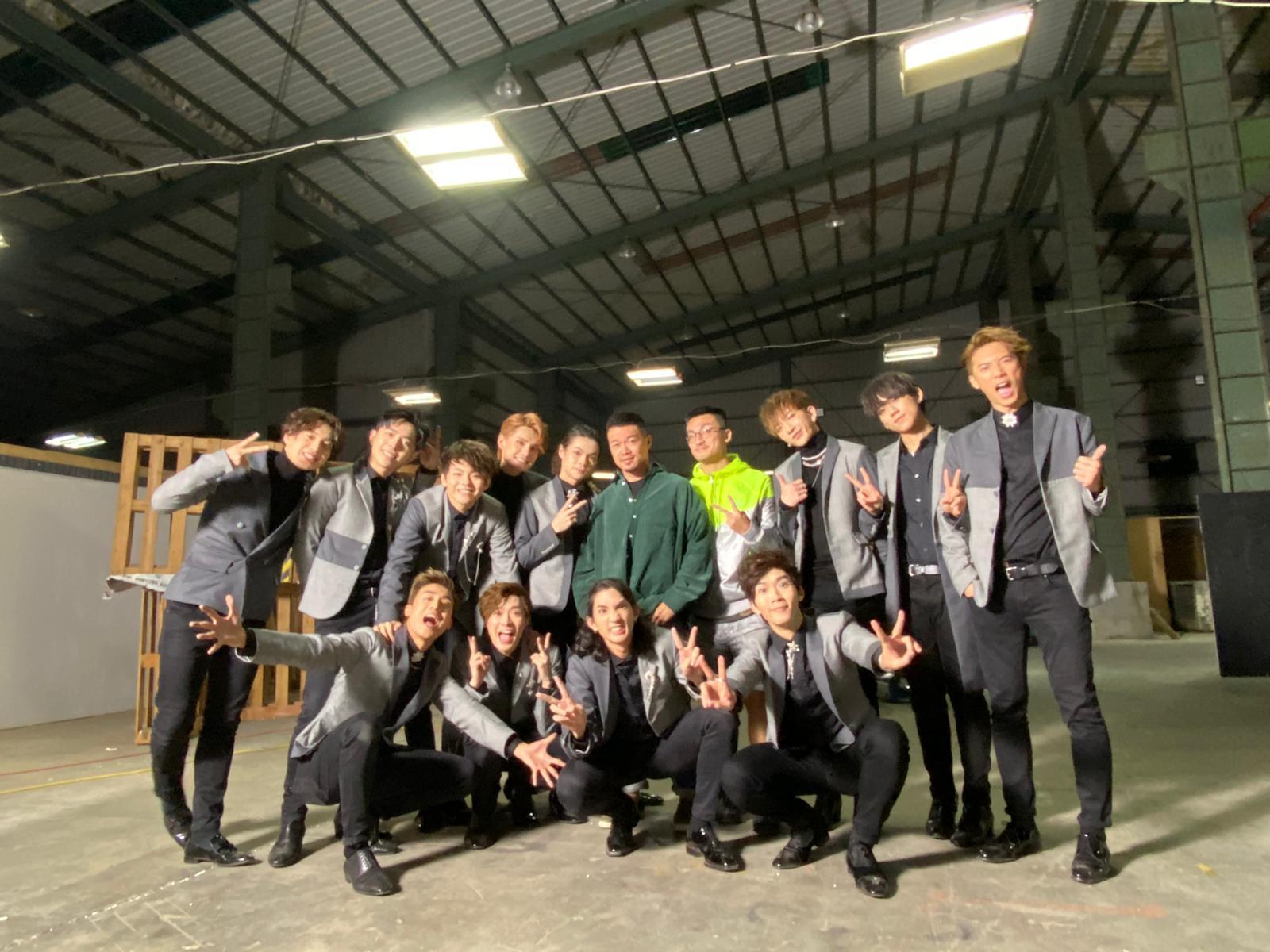 早前MIRROR專登飛到台灣為新歌《Reflection》拍攝MV。