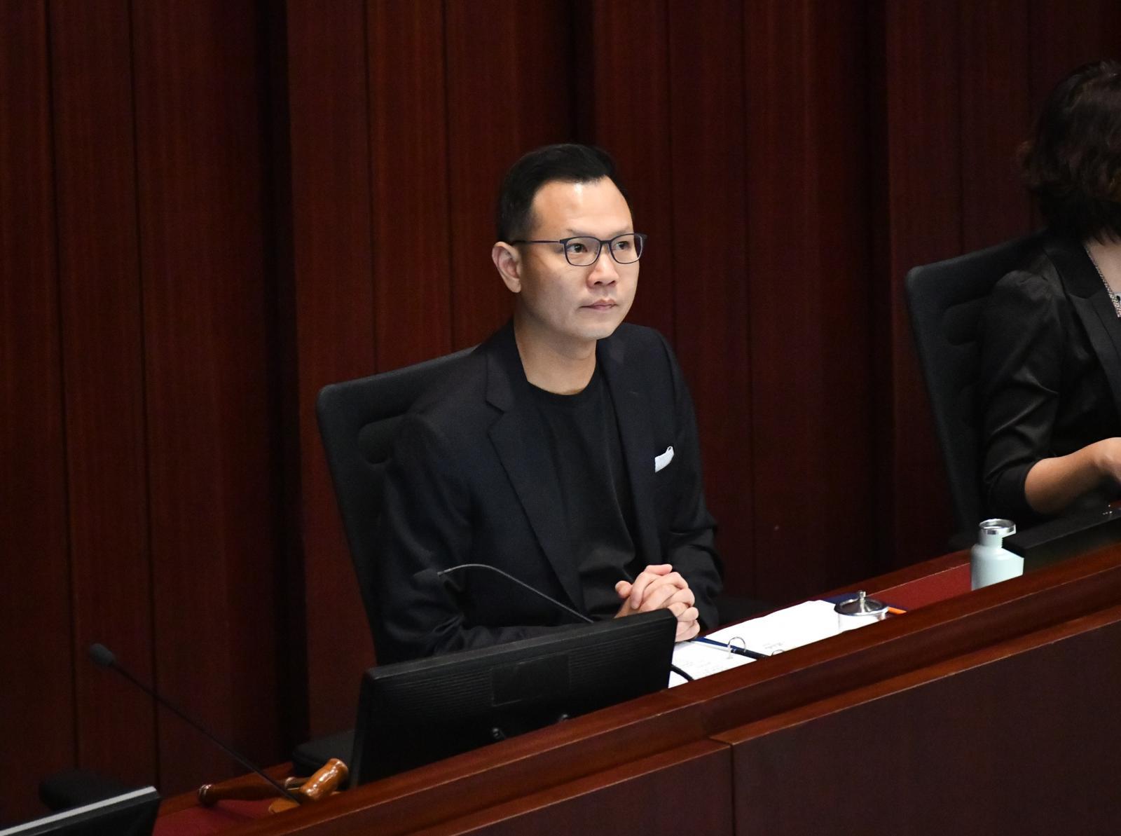 法律界立法會議員郭榮鏗對暫緩執行裁決感到失望。