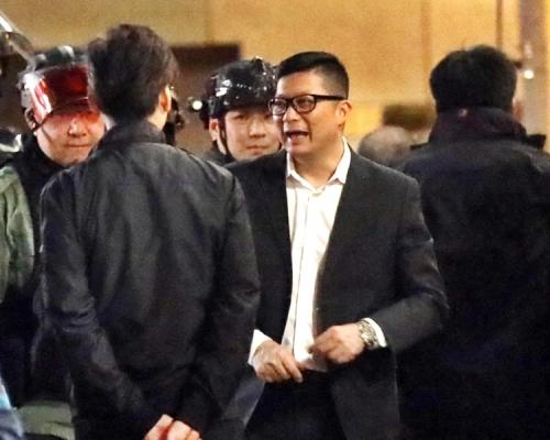 網傳鄧炳強周五與前線警會面。資料圖片