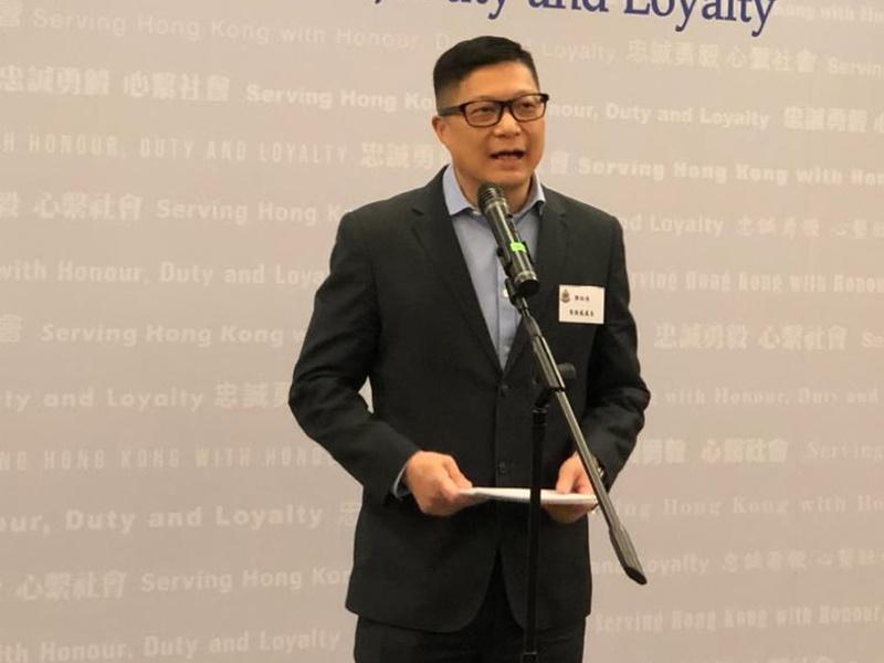 鄧炳強表示,警隊正招募共千名退休警務人員「回巢」。
