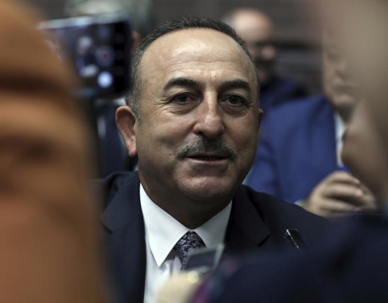 土耳其外长指责法国支持恐怖主义。(资料图片)