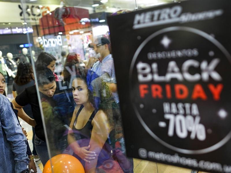 「黑色星期五」掀购物热潮。
