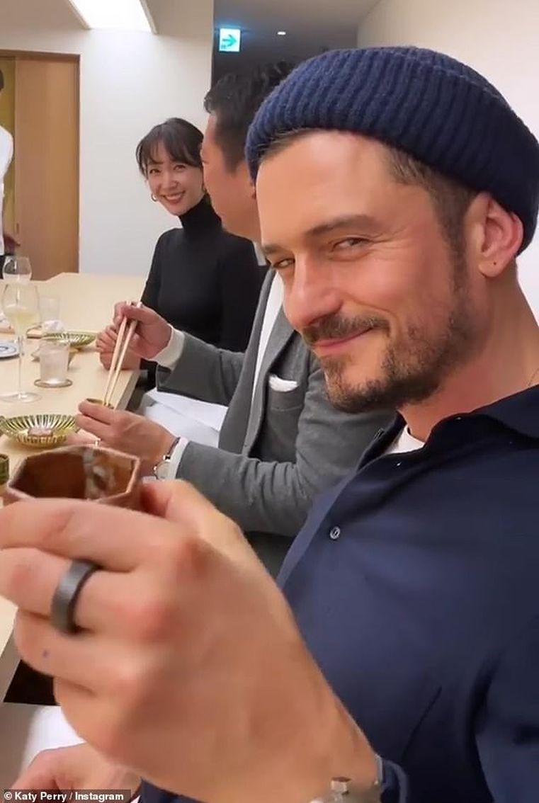 奧蘭度好鍾意飲清酒。