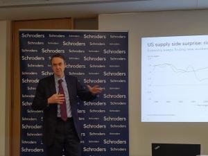 施羅德:明年環球經濟增長達2.6%