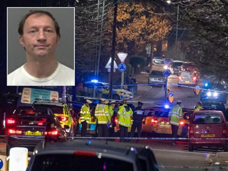 英國有汽車撞向學生造成1死5傷,警方正通緝一名51歲的男疑犯特蕾西·哈曼(Tracey Harman)。(網圖)