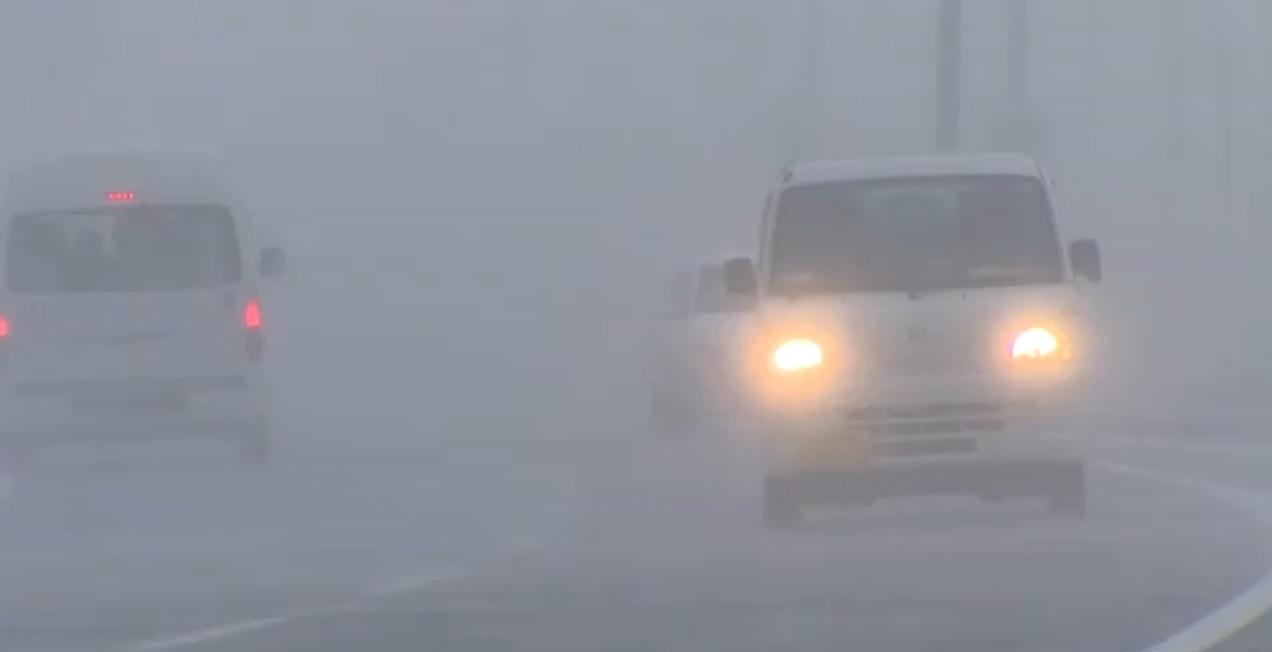 日本北部出現暴風雪。網上圖片