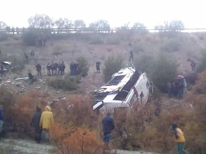 摩洛哥北部發生嚴重交通事故致17死35傷。(網圖)