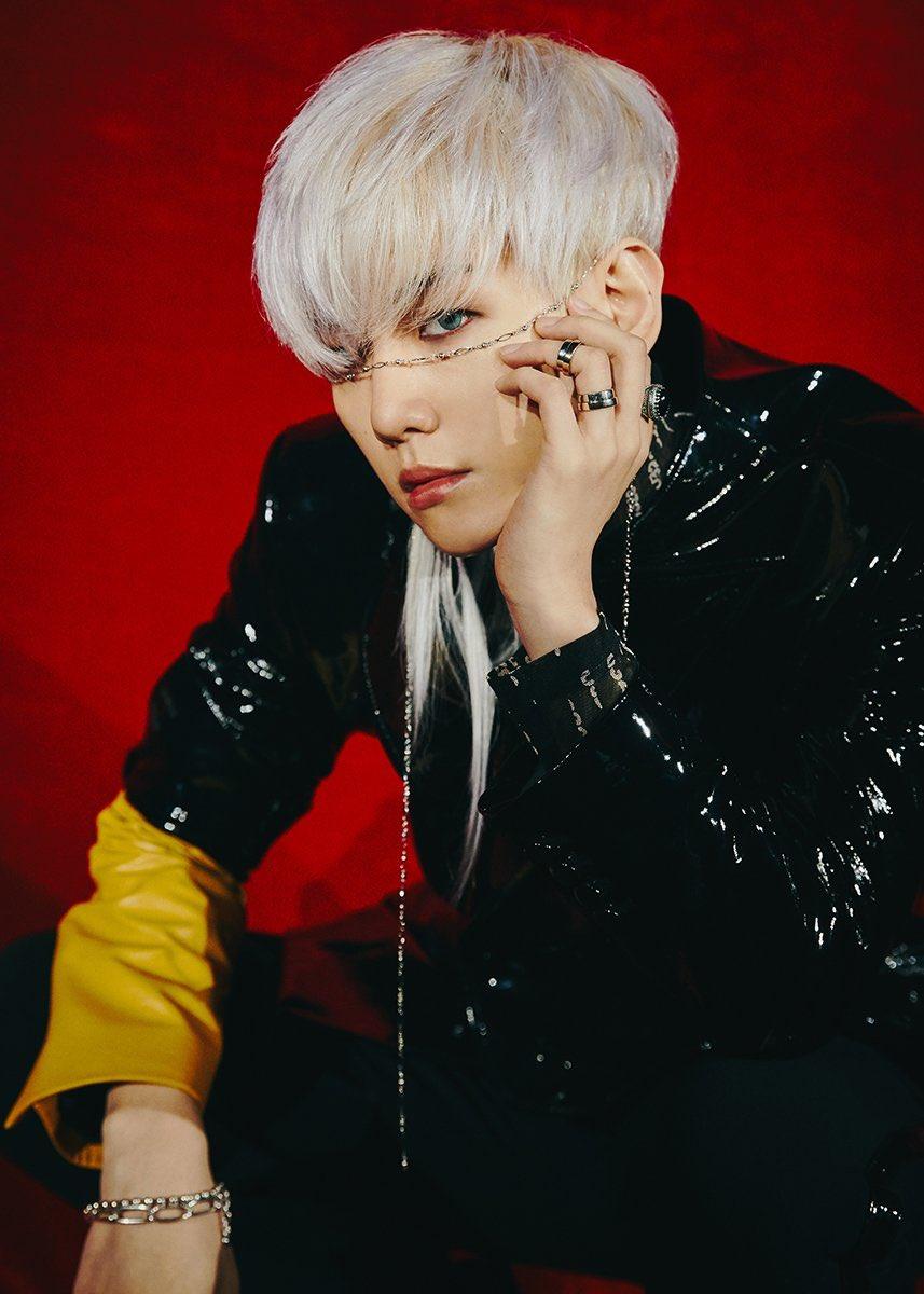 EXO的伯賢是個人單位的第9位。