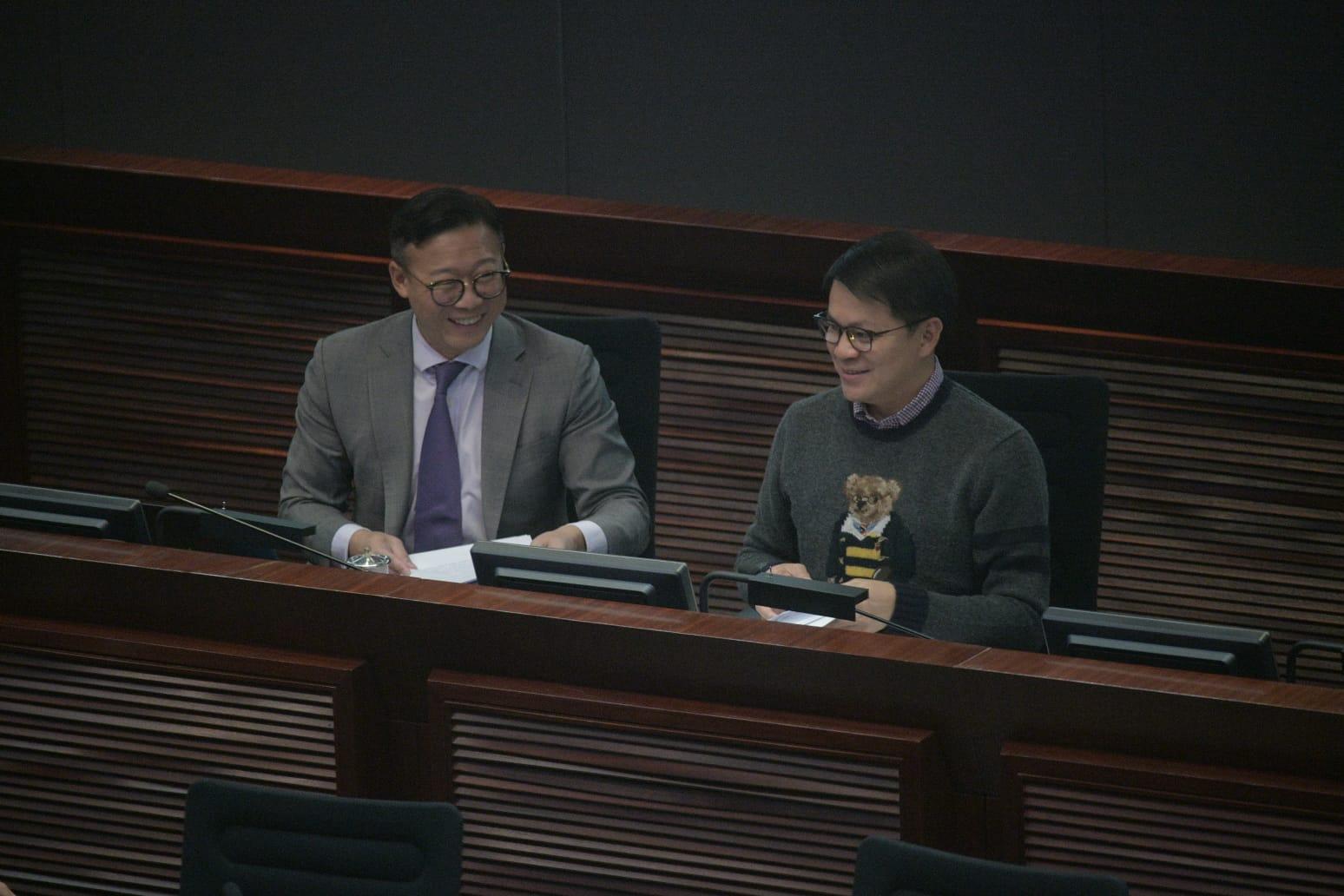 陳克勤當選。