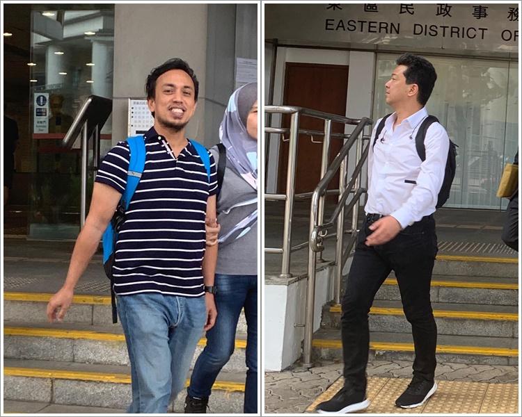 Mohd Nurhakim Bin Abd Sukur(左) ,及Furuzawa Tomoaki(右)。資料圖片