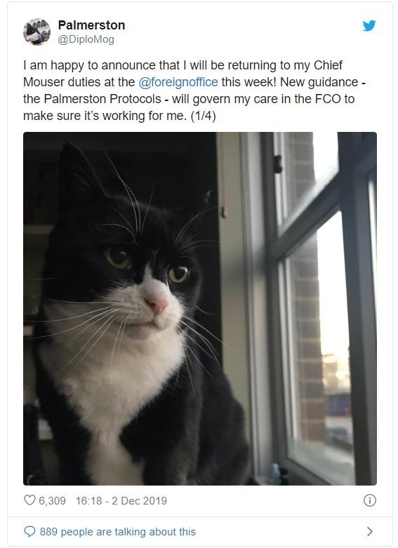 帕默斯頓(Palmerston)回歸英國外交部。網上圖片