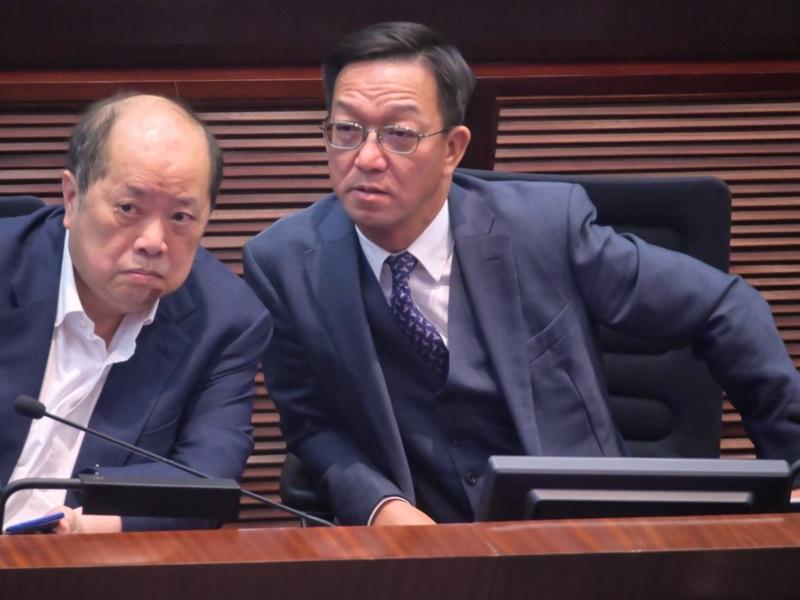 鄉議局主席劉業強(右)當選政制事務委員會副主席。