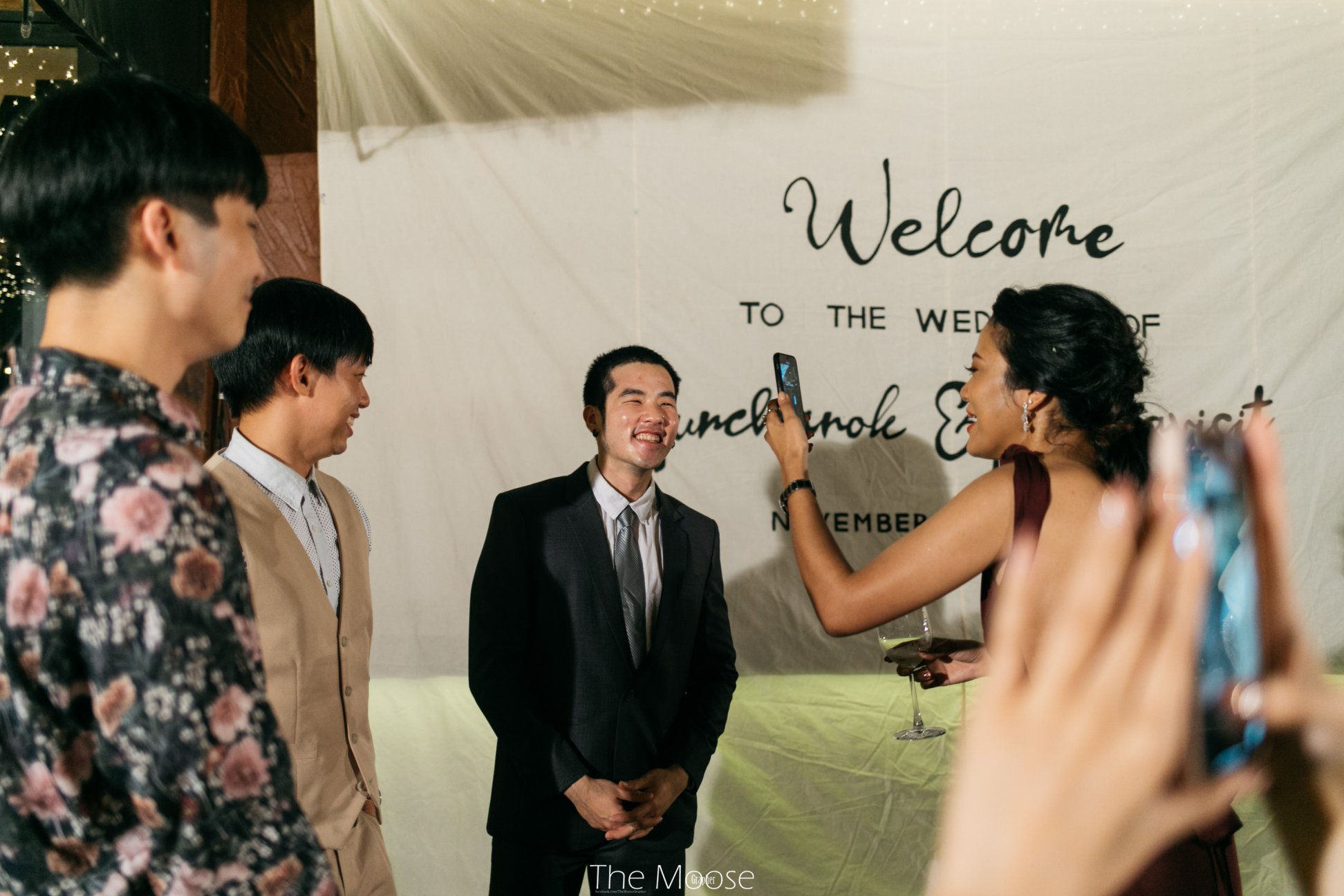 新娘邀3位前男友出席婚禮。網上圖片