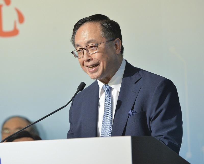 楊偉雄續指,特區政府會繼續積極推動本港創新科技發展。資料圖片