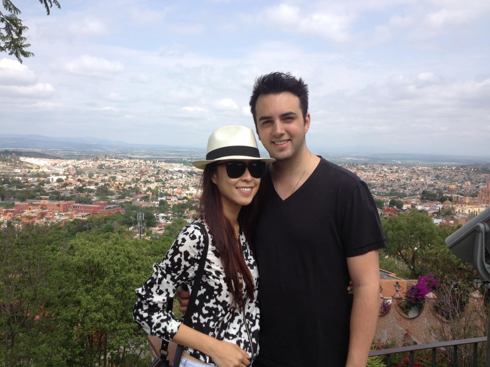 陳逸璇與墨西哥籍丈夫Marc Rodriguez的婚姻維持兩年半便玩完。