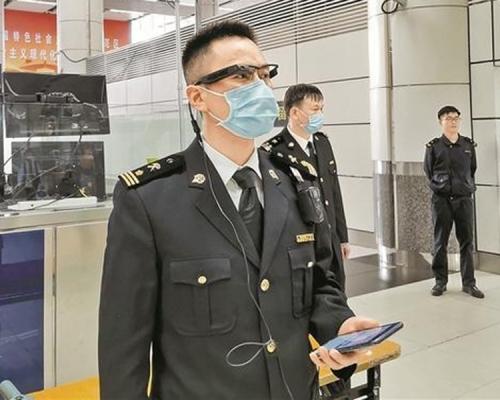 難逃5G法眼!深圳海關試用5G智能眼鏡緝私