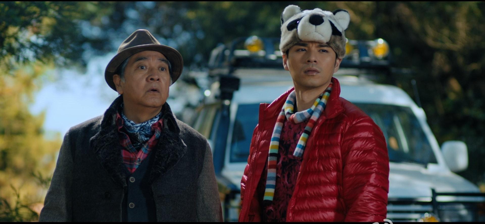 16年Benji和Paul哥在內地電影《我的1000萬》中合演兩父子。