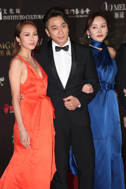 左起:湯怡、吳卓羲及何佩瑜携手亮相。