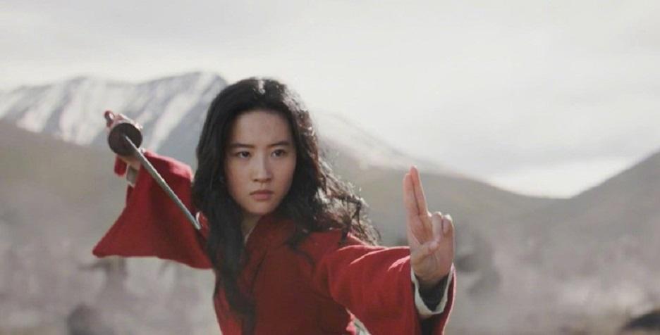劉亦菲飾演花木蘭。