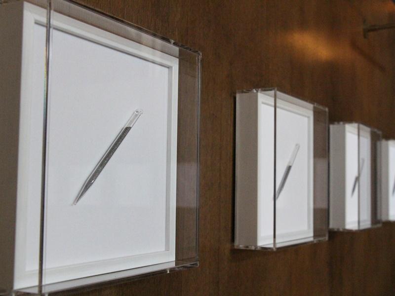 呈現「鐵杵磨針」成果的《時.針》,現被文藝會所Soho House收藏及展出。