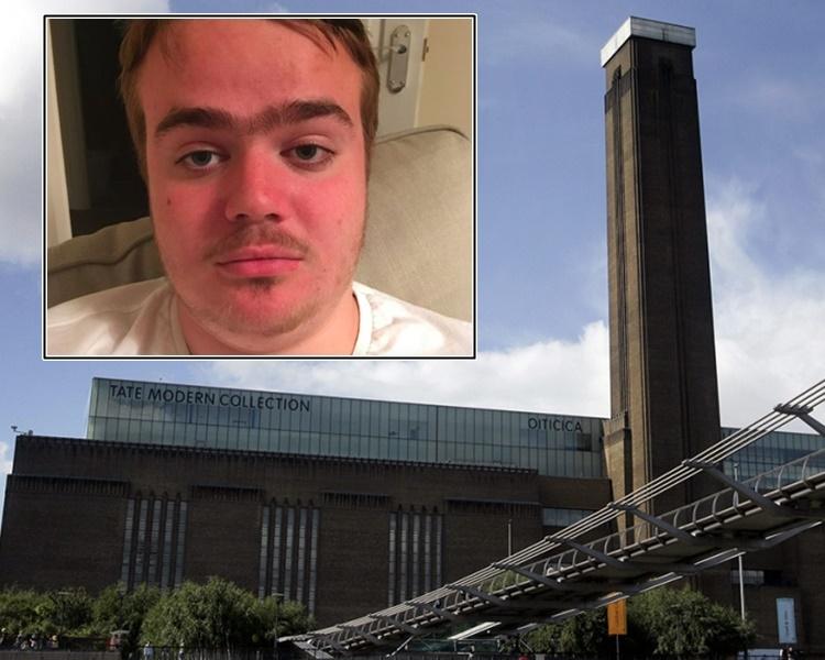 布拉韋里承認在美術館將一名男童由10樓擲落5樓平台。網圖/AP