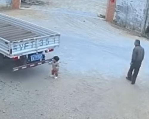 廣東女童遭貨車輾斃 老翁目睹未提醒被斥冷血