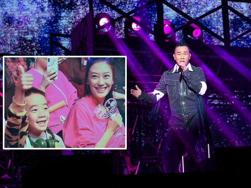 陳小春即場宣佈老婆有喜剛3個月。