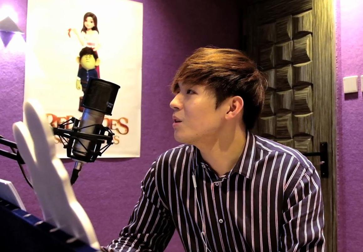 首次配音,陳卓賢被導演大讚有潛質,他希望將來有機會配吓做動物,應該好有發揮。