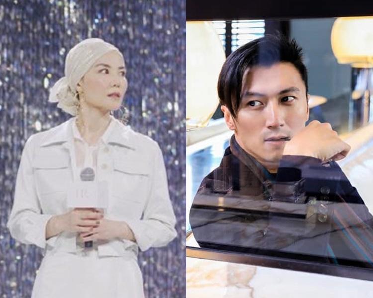 王菲(左)罕有透露自己的結婚標準,莫非要跟謝霆鋒結婚了?