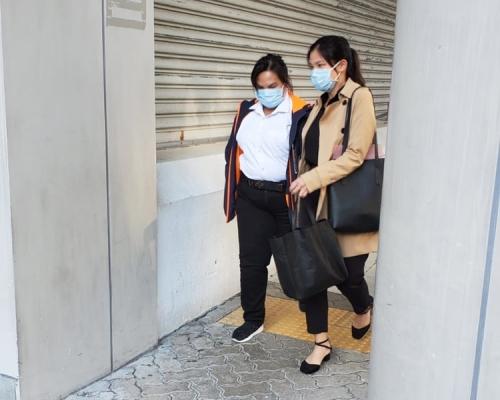 【修例風波】珍珠奶茶掟警 27歲女清潔工認襲警罰3000元
