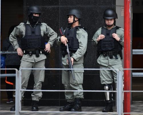 【修例風波】圖策劃遊行槍傷警員製造混亂5男今提堂 押2月中再訊