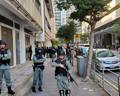 圖策劃遊行槍傷警員製造混亂 5男提堂押2月中再訊
