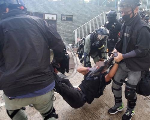 【修例風波】警方過去半年拘捕6022人 4成為學生