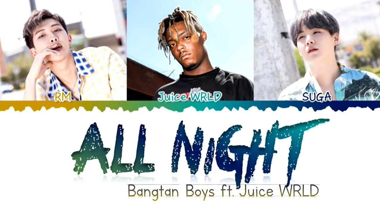 Juice曾經與BTS的RM及SUGA合作。