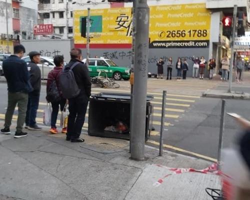 【修例風波】休班警大埔遇襲面部受傷 拘14歲少女