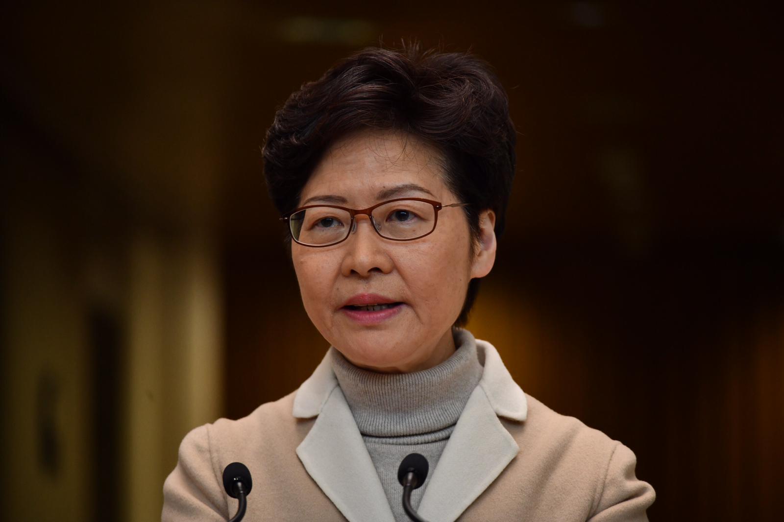 林鄭月娥表示,會重新審視到立法會短問短答是否仍有意義。