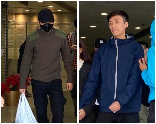 【12.8遊行】兩男被控管有非法用途工具 官查看鐵蓮花照片:似開瓶器多啲喎