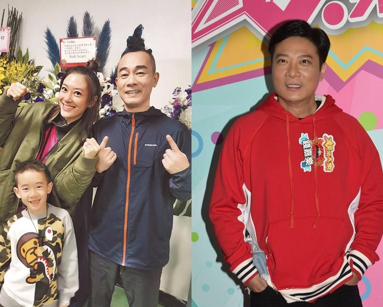 錢嘉樂(右)稱透過傳媒先知好兄弟陳小春再做老竇。