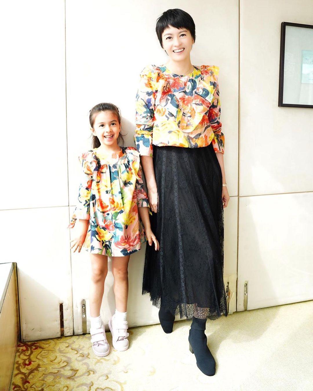 Gigi女兒Sofia,4歲半已有122cm高。