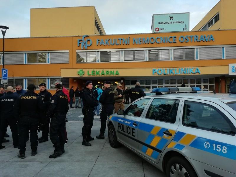 目前醫院周邊已被封鎖,警方正展開調查。(網圖)