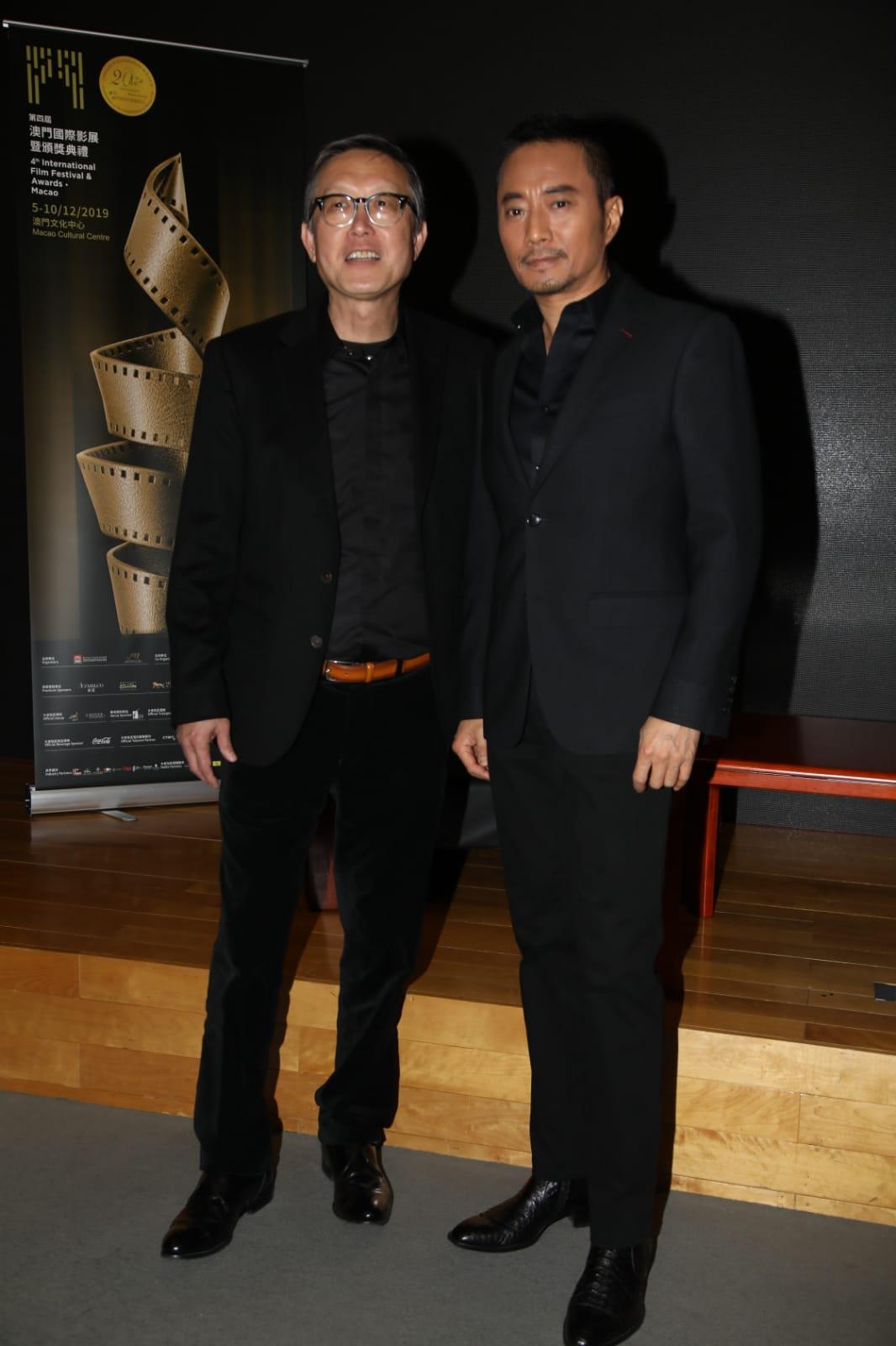 張涵予與劉偉強最近在電影《中國機長》中合作。