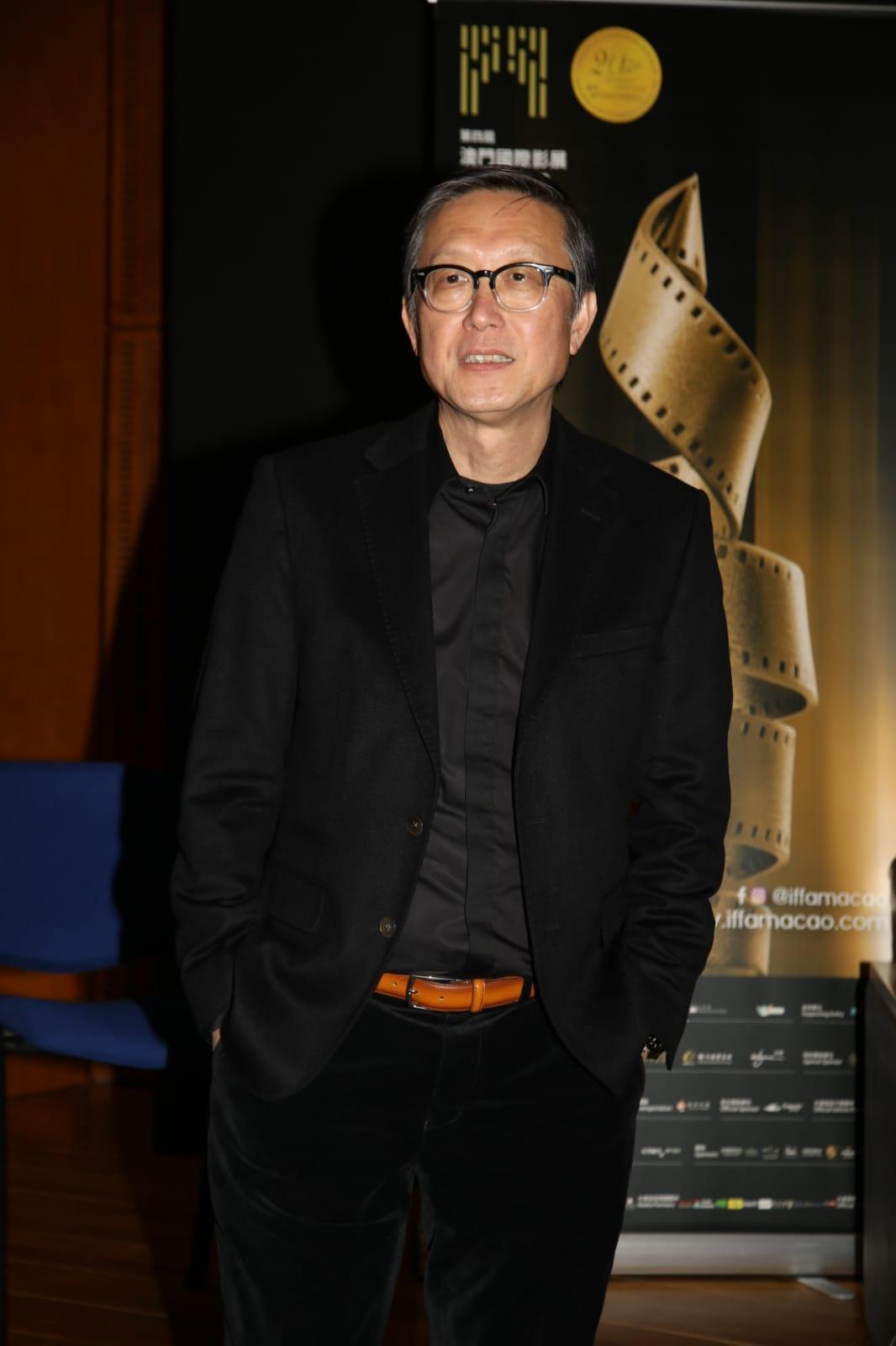 為拍該片度橋拍攝,劉偉強笑言自己似發明家。