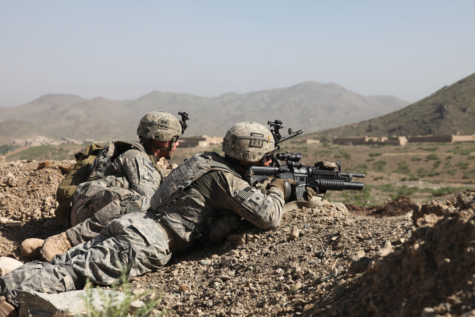 阿富汗美軍。網上圖片