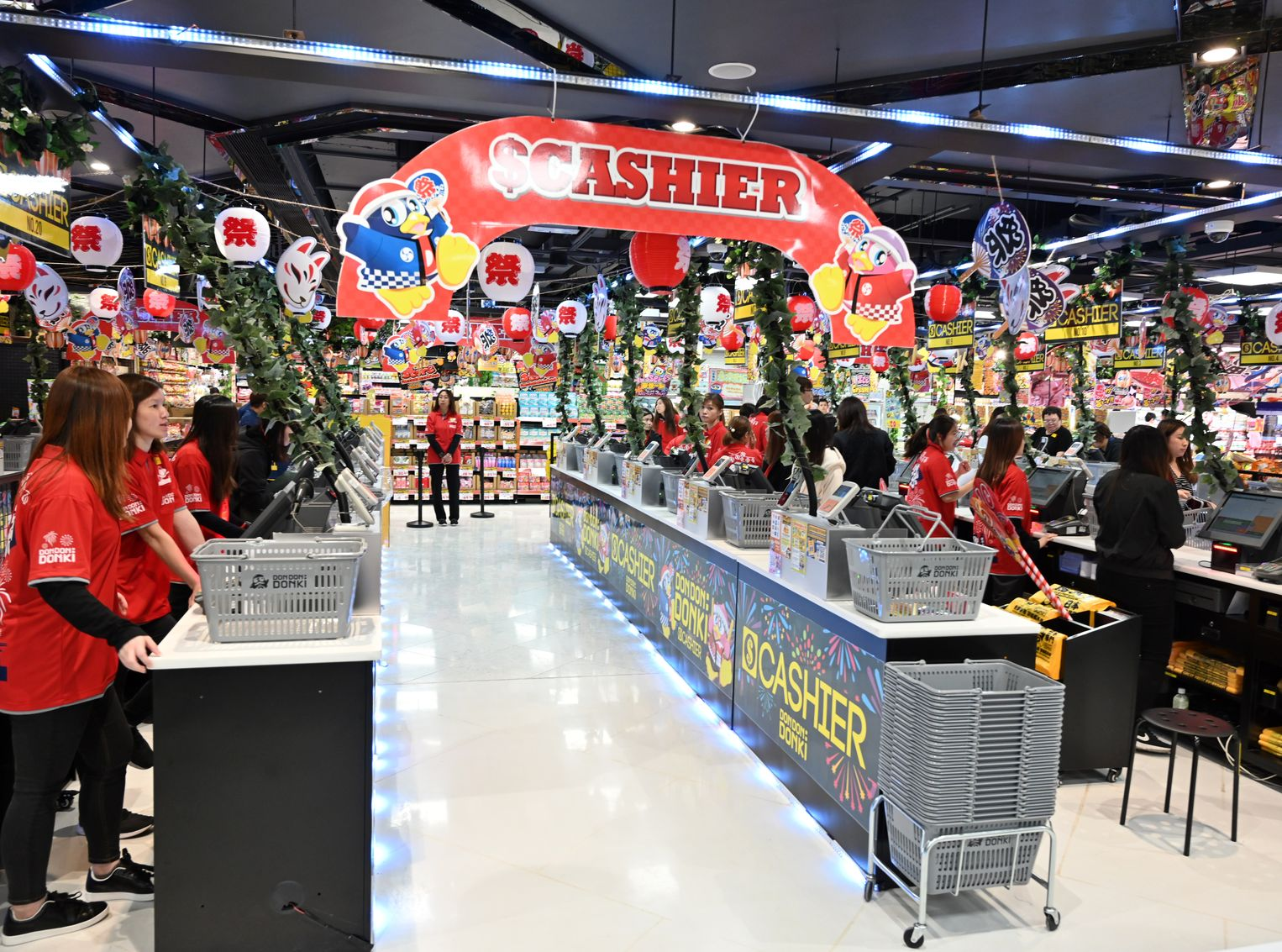 荃灣分店明日開幕。