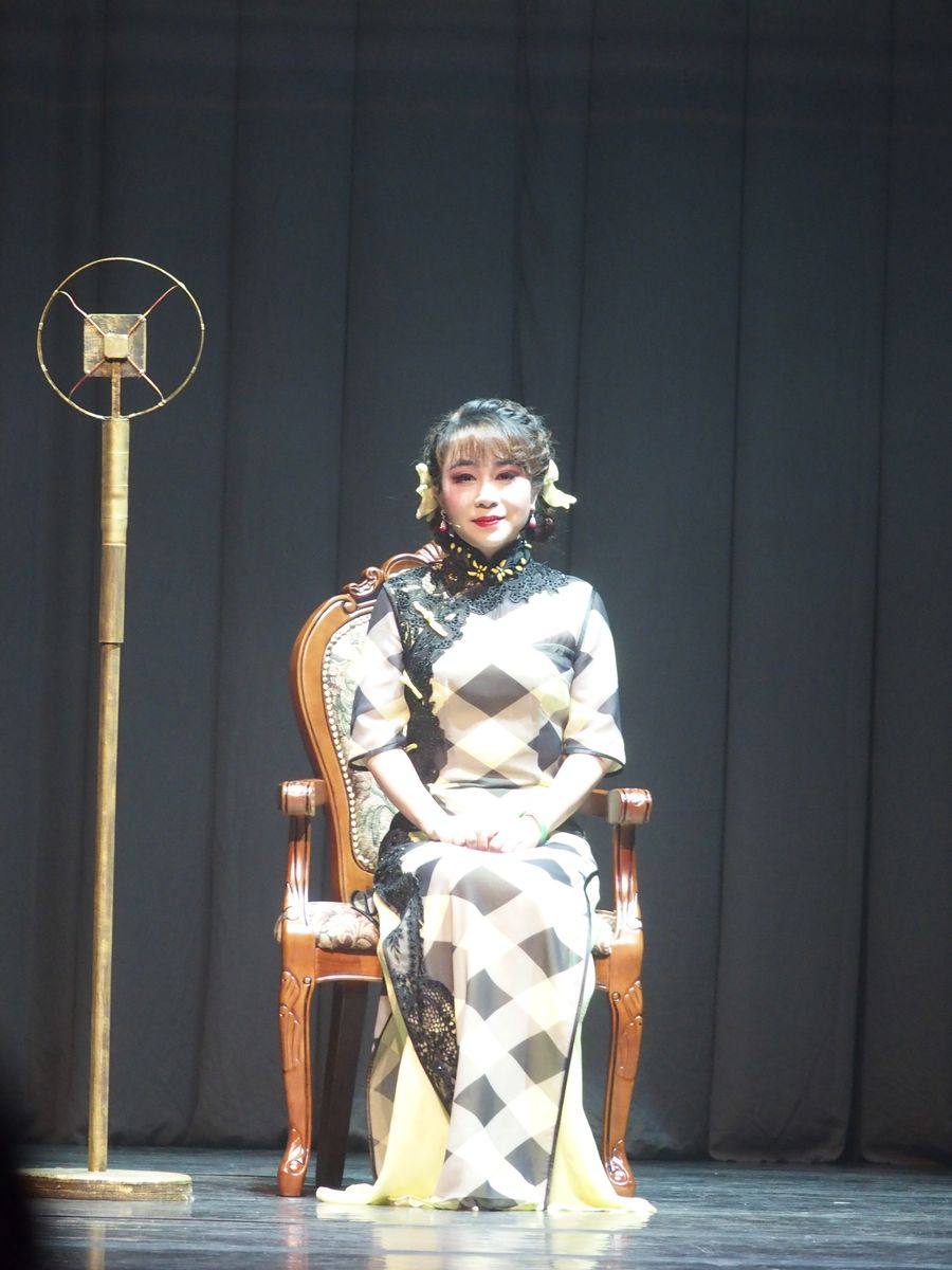 梁玉嶸心願達成演《小明星》。